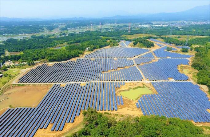太陽光発電施設 ―日本―の写真